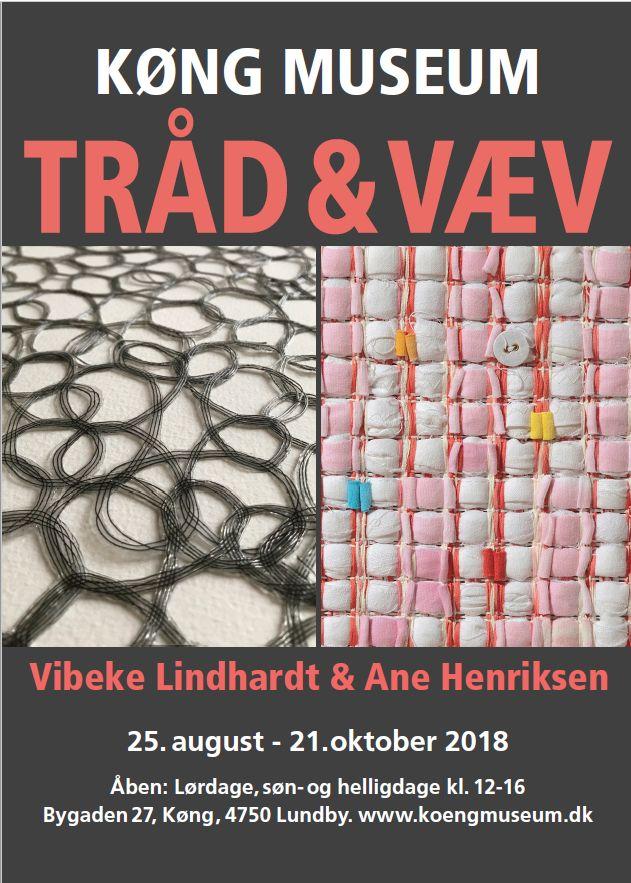 Tråd & Væv 2018 Plakat